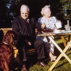 Lucy and Warren Cuddy, shortly before Warren's death.