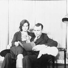 "Thomas ""Tom"" and Rena Culhane an informal pose early in their marriage, ca. 1933-1939, Anchorage."