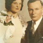 Thomas Culhane and Rena LaJambe at the time of their wedding, 1933.