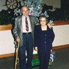 "Thomas ""Tom"" and Rena Culhane celebrating their 60th wedding anniversary, 1993."