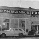 Eckmann's Furniture storefront, ca. 1945.