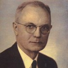 Harry Hamill, ca. 1945-1950, while he was still working for the First National Bank of Anchorage.