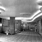 The lobby area of the 4th Avenue Theatre at the time that it opened in 1947.   Anchorage was awed by the grandeur of its new theater.