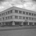 The Loussac-Sogn Building (5th Avenue and D Street) was built for Z.J. Loussac and his real estate partner, Harold Sogn (an Anchorage physician) in 1946-1947.  It was the largest commercial building in Anchorage at the time.  It remains a business and professional building in downtown Anchorage.