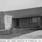 Wolfe residence on 10th Avenue, Anchorage, 1940.