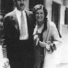 Jack and Lorene Harrison at the time of their wedding, 1930.