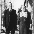 William G. and Mariola H. Marsh near the time of their 50th wedding anniversary in 1937.